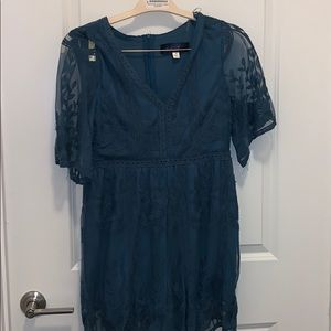 Blue romper from Francesca's